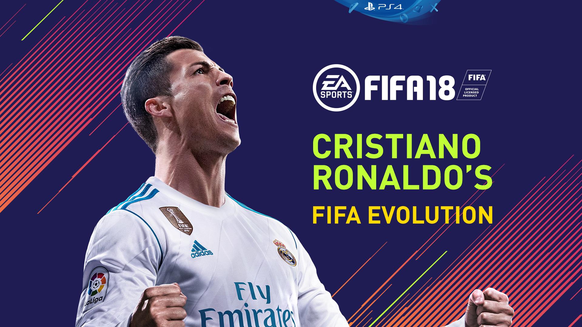 Cristiano Ronaldo S Fifa Evolution