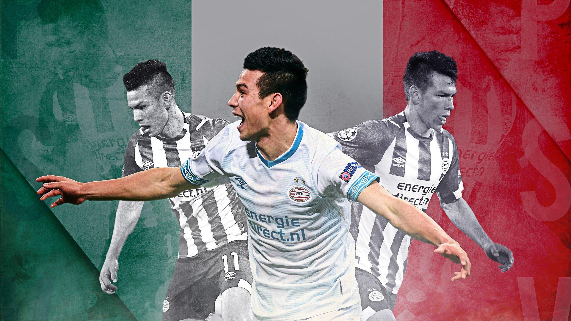 premium selection ec29c 727a3 Chucky Lozano: PSV phenomenon with world at his feet