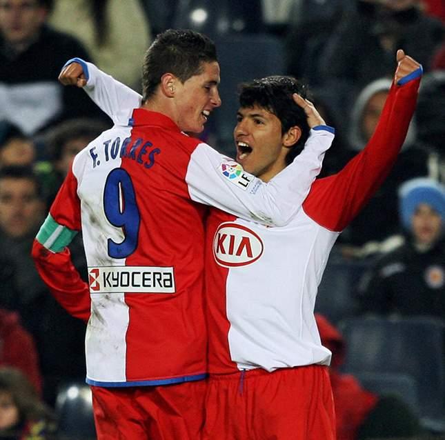 Kun Aguero And Messi