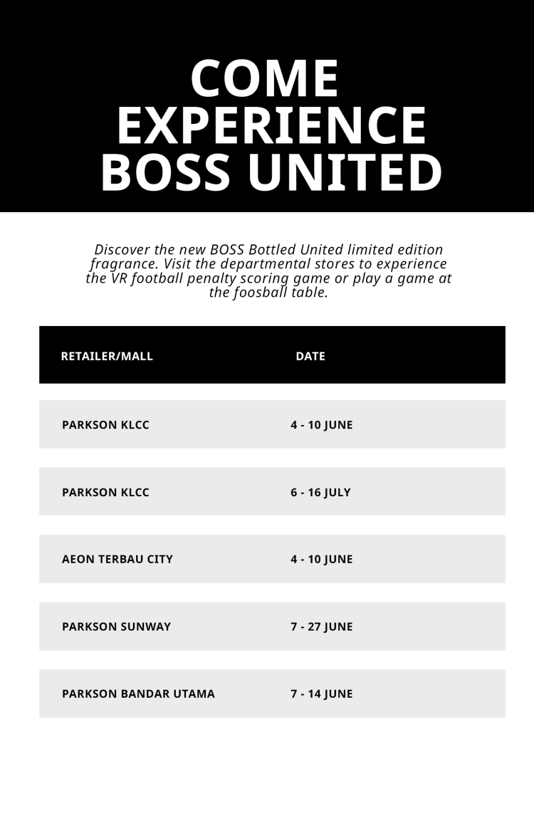 boss bottled united limited edition