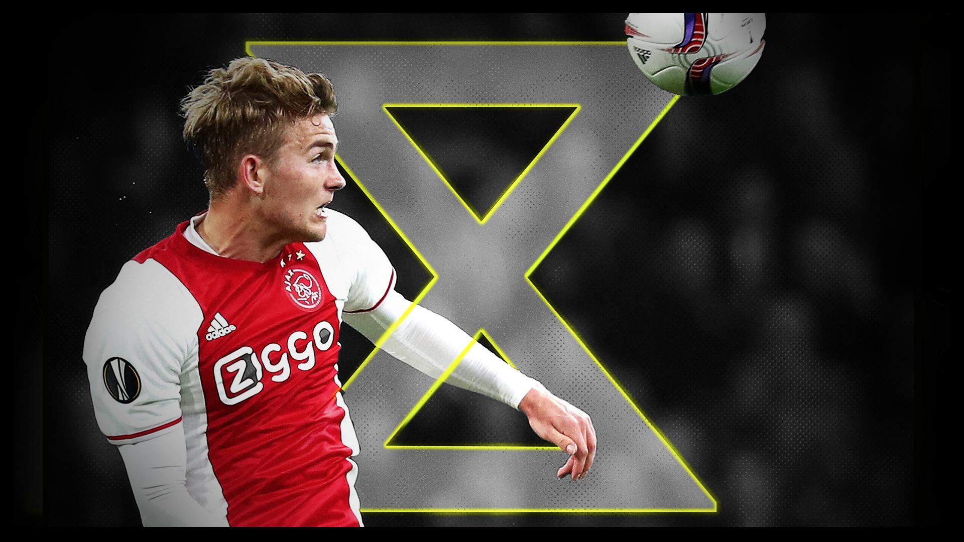 Le défenseur total de l'Ajax : le prodige De Ligt pas